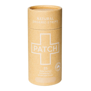 Patch Strips Natural 25Pk - Here and There Makers