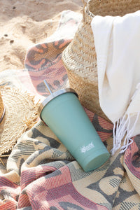 Tumbler with Straw Insulated - Here and There Makers
