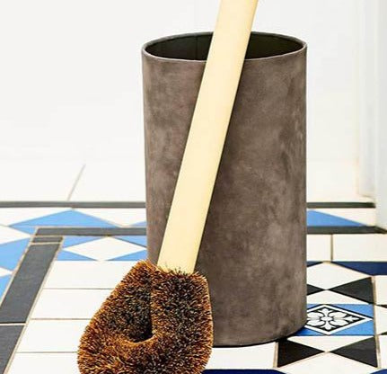 Toilet Brush Holder Paper Pottery - Here and There Makers