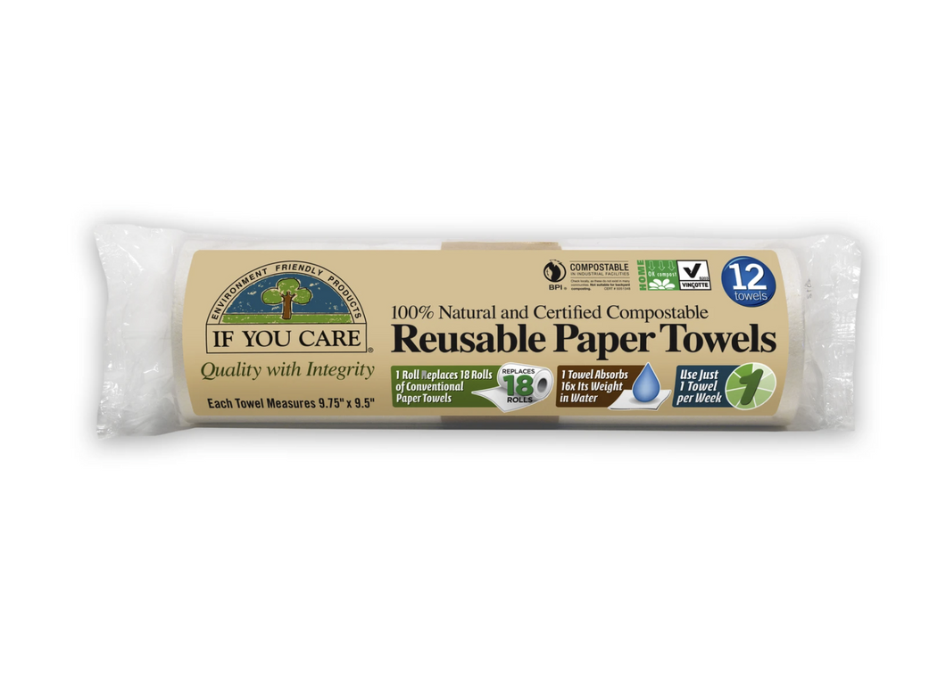 Reusable Paper Towels 12 Sheets