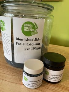 Facial Exfoliating Cream - Blemished Skin