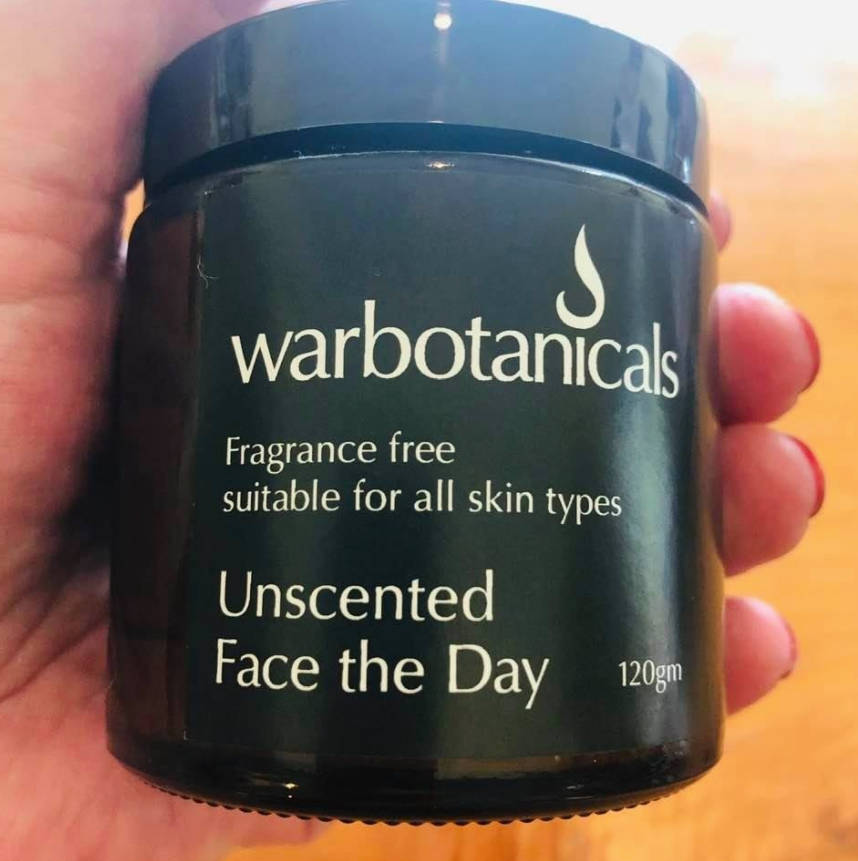 Face the Day Moisturiser Cream 120gm Warbotanicals