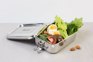 Stainless Steel Hungry Max Lunch Box 1.6L