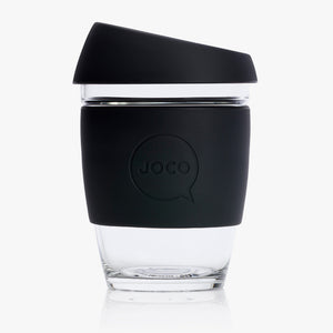 JOCO Reusable Glass Cup Regular 12oz - 354ml - Here and There Makers