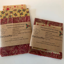 Beeswax Christmas Wraps - Here and There Makers