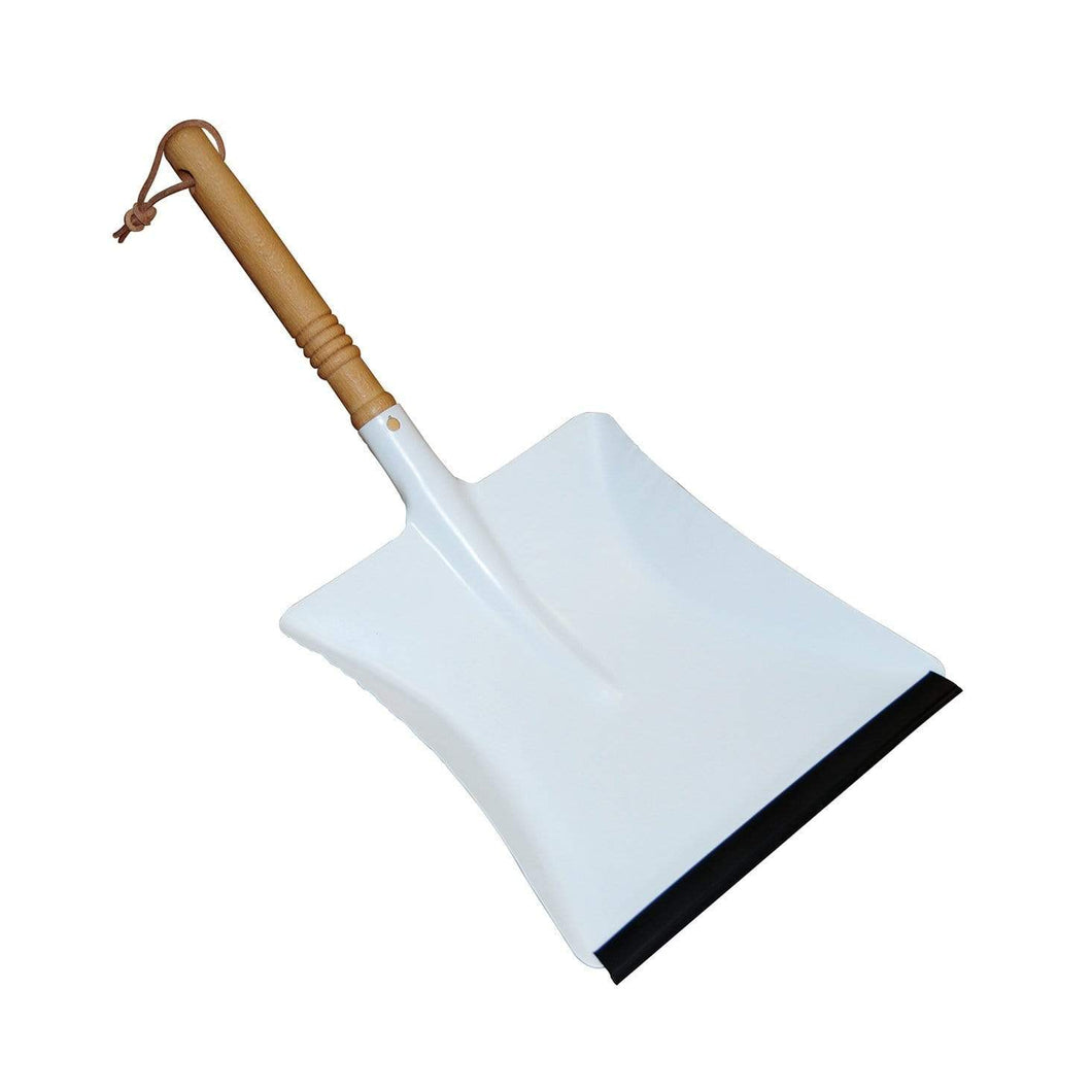 Dust Pan - White Redecker - Here and There Makers