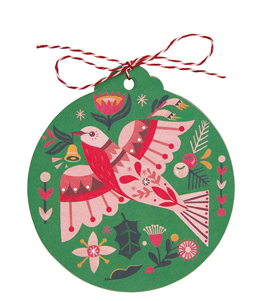 Christmas Gift Tags Earth Greetings