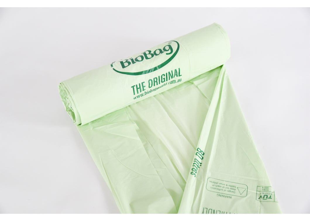 BioBag 80L Superline Roll 20 Bags - Here and There Makers