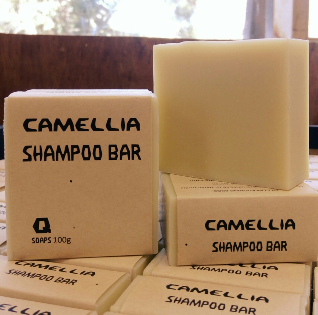 Shampoo Bar Camellia - Here and There Makers