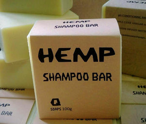 Shampoo Bar Hemp - Here and There Makers