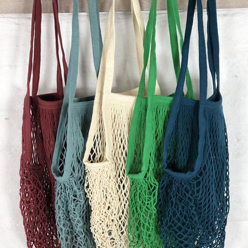 Shopping Bag - Cotton String (35cm x 55cm) - Here and There Makers