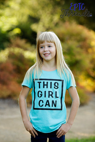 This Girl Can T-Shirt **Child Sizes**