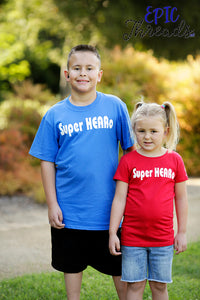 Super HEARo T-Shirt **Adult Sizes**