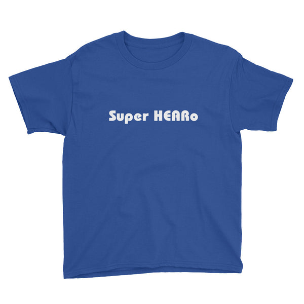 Boys Super HEARo T-Shirt **Child Sizes**