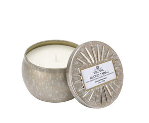 Tin Bougie Parfumee Candles