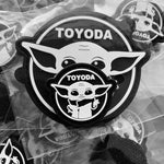 Mini TOYODA Patch (pack of 2)