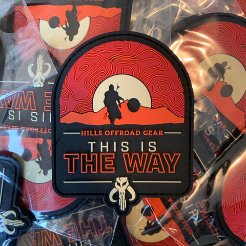 THIS IS THE WAY - PVC Patch