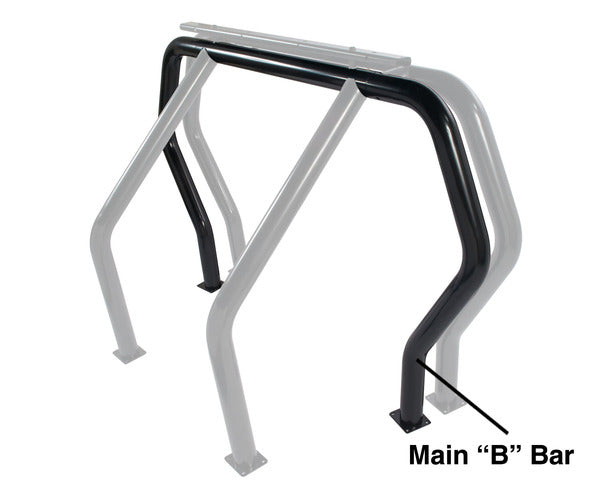 Go Rhino 90002B Bed Bars Kit Component Roll Bar Component