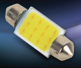 Pilot Automotive  Inc. ILC-6461AW COB (Chip On Board) Series Dome Light Bulb- LED