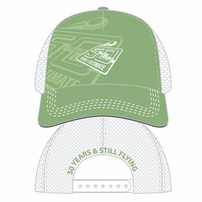 50th Anniversary of Ultimate: '50 Years' 5-Panel Trucker -Green