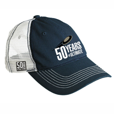 50th Anniversary of Ultimate: '50 Years' Unstructured Trucker -Navy