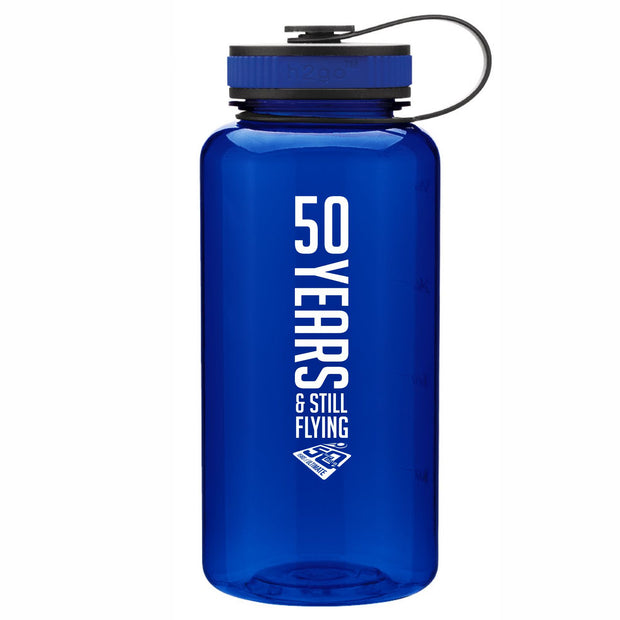 50th Anniversary of Ultimate: '50 Years' 34 oz. Water Bottle (3 colors)