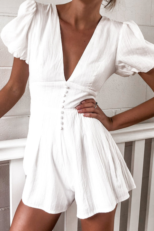 Be Brave Playsuit-PLAYSUIT-MISHKAH Is Australia's Best Online Fashion Boutique In Australia And Sells Festival Fashions & Womens Dresses | Shop With AfterPay For The Latest Fashion Trends, Same Day & Express Post