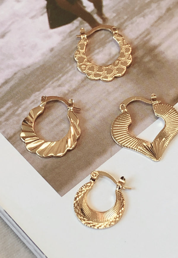 Call For Love Earrings-EARRINGS-MISHKAH Is Australia's Best Online Fashion Boutique In Australia And Sells Festival Fashions & Womens Dresses | Shop With AfterPay For The Latest Fashion Trends, Same Day & Express Post