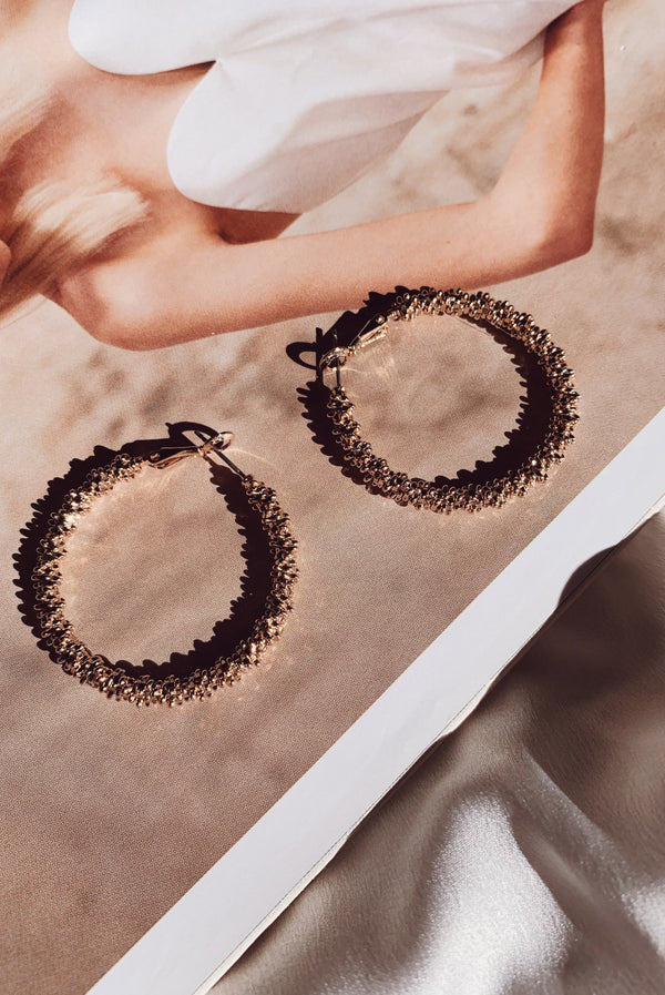 Circles Earrings-EARRINGS-MISHKAH Is Australia's Best Online Fashion Boutique In Australia And Sells Festival Fashions & Womens Dresses | Shop With AfterPay For The Latest Fashion Trends, Same Day & Express Post