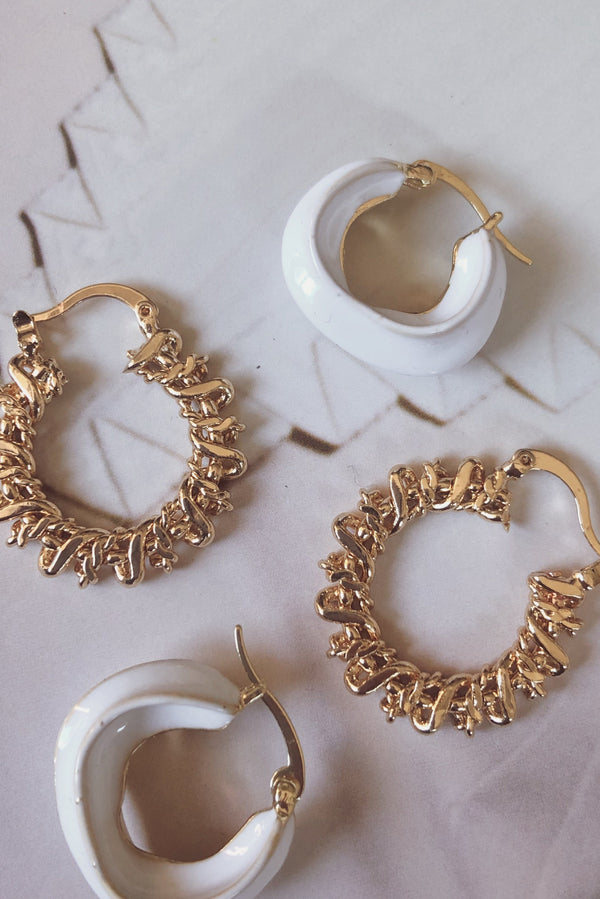 Feel Good Earrings-EARRINGS-MISHKAH Is Australia's Best Online Fashion Boutique In Australia And Sells Festival Fashions & Womens Dresses | Shop With AfterPay For The Latest Fashion Trends, Same Day & Express Post