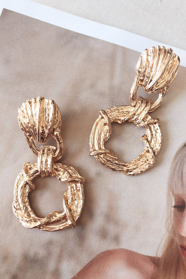 HIGH STREET earrings-EARRINGS-MISHKAH Is Australia's Best Online Fashion Boutique In Australia And Sells Festival Fashions & Womens Dresses | Shop With AfterPay For The Latest Fashion Trends, Same Day & Express Post