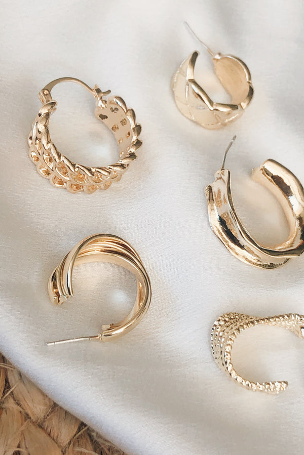 Hint Of Sparkle Earrings-EARRINGS-MISHKAH Is Australia's Best Online Fashion Boutique In Australia And Sells Festival Fashions & Womens Dresses | Shop With AfterPay For The Latest Fashion Trends, Same Day & Express Post