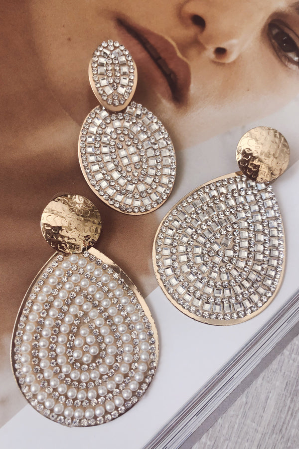 JUST FOR YOU earrings-EARRINGS-MISHKAH Is Australia's Best Online Fashion Boutique In Australia And Sells Festival Fashions & Womens Dresses | Shop With AfterPay For The Latest Fashion Trends, Same Day & Express Post