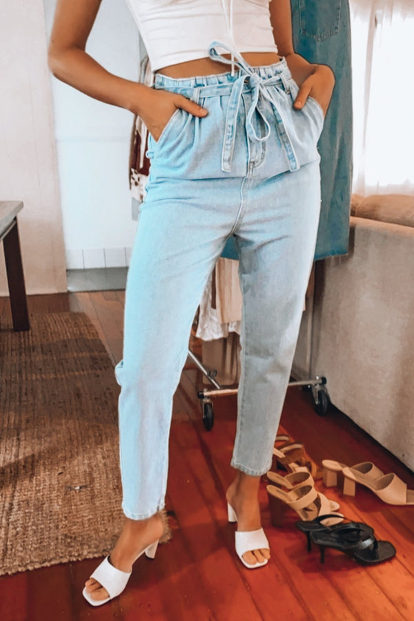 Keep It Close Jeans-JEANS-MISHKAH Is Australia's Best Online Fashion Boutique In Australia And Sells Festival Fashions & Womens Dresses | Shop With AfterPay For The Latest Fashion Trends, Same Day & Express Post
