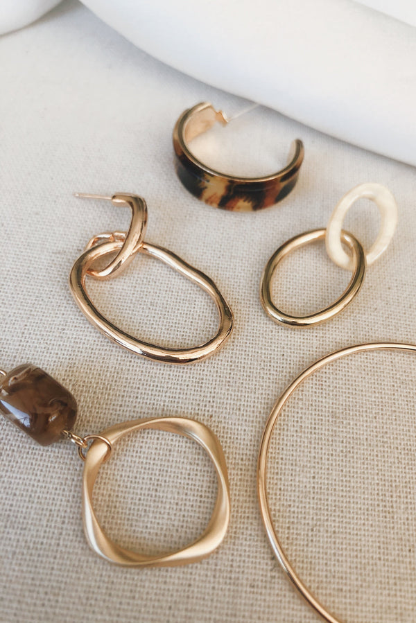 Nearly Time Earrings-EARRINGS-MISHKAH Is Australia's Best Online Fashion Boutique In Australia And Sells Festival Fashions & Womens Dresses | Shop With AfterPay For The Latest Fashion Trends, Same Day & Express Post