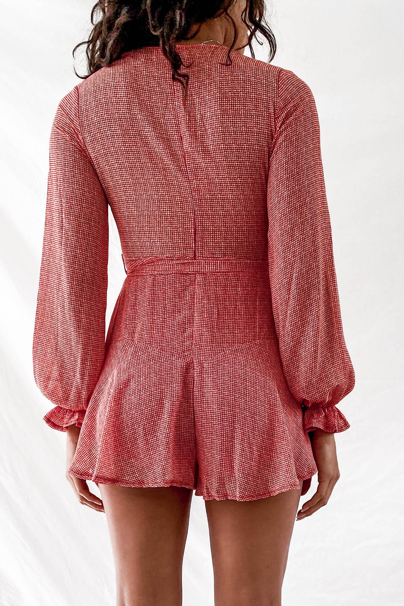 Perfect Morning Playsuit-PLAYSUIT-MISHKAH Is Australia's Best Online Fashion Boutique In Australia And Sells Festival Fashions & Womens Dresses | Shop With AfterPay For The Latest Fashion Trends, Same Day & Express Post
