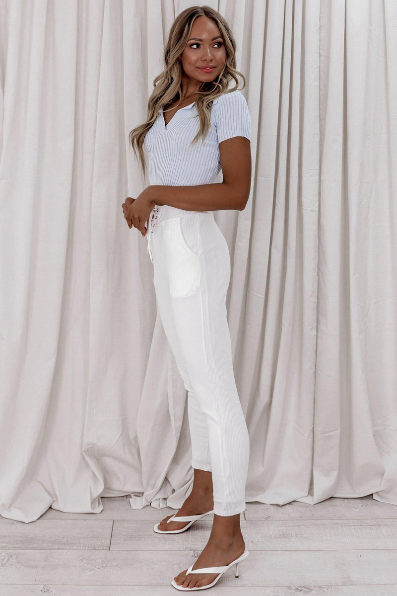 Sailing Pants-MISHKAH women's online fashion boutique birthday dresses spring dresses white dress white dress jumpsuits long dresses online boutiques spring dresses boutique clothing little white dress online clothing boutiques clothing stores online boutiques online teen dresses all white dresses birthday dresses dress shops dress websites cute tops rompers and jumpsuits vegas dresses cute maxi dresses white summer dress white maxi dresses white club dresses women clothing websites dress boutiq