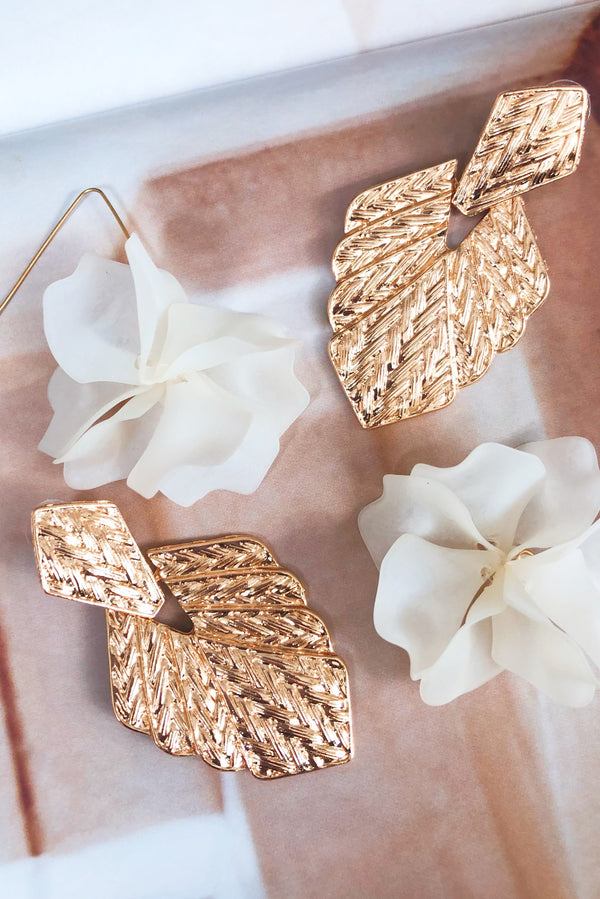 Say Something Earrings-EARRINGS-MISHKAH Is Australia's Best Online Fashion Boutique In Australia And Sells Festival Fashions & Womens Dresses | Shop With AfterPay For The Latest Fashion Trends, Same Day & Express Post