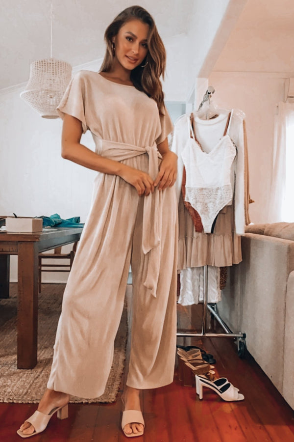 Wait Right Here Jumpsuit-JUMPSUIT-MISHKAH Is Australia's Best Online Fashion Boutique In Australia And Sells Festival Fashions & Womens Dresses | Shop With AfterPay For The Latest Fashion Trends, Same Day & Express Post