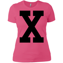 X Ladies' T-Shirt