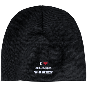 I Love Black Women Beanie