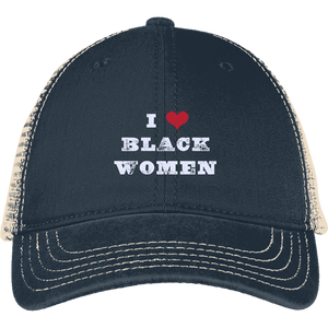 I Love Women Back Cap