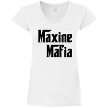 Maxine's Mafia V-Neck Ladies T-shirt