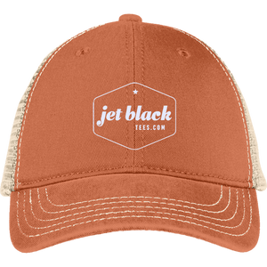 Jet Black Back Cap
