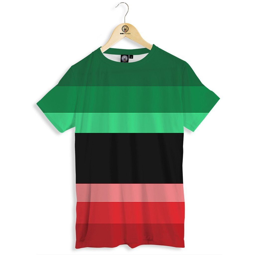 Flag colors tee