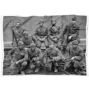 Harlem Hellfighters Fleece Blanket