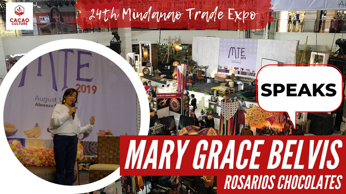 Artisan Chocolates with Rosarios Chocolates at the Mindanao Trade Expo