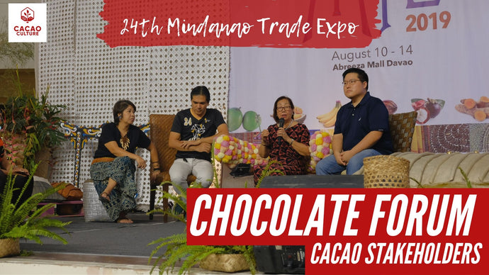 Chocolate Forum at the Mindanao Trade Expo