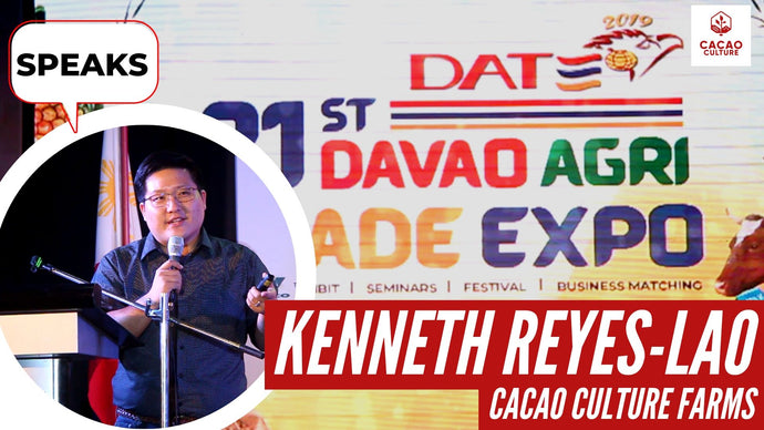 Ken Speaks at the Davao Agri Trade Expo
