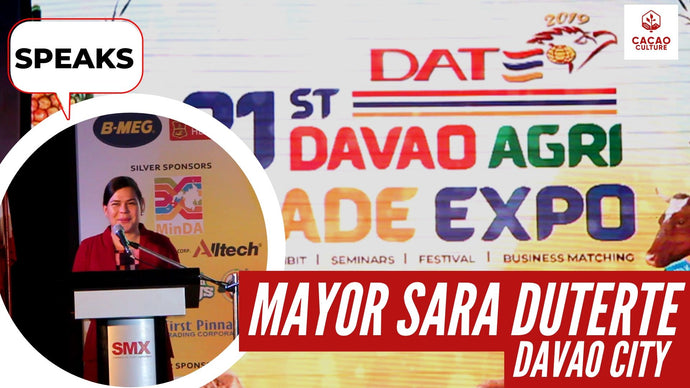 Mayor Sara Duterte graces us at the Davao Agri Trade Expo